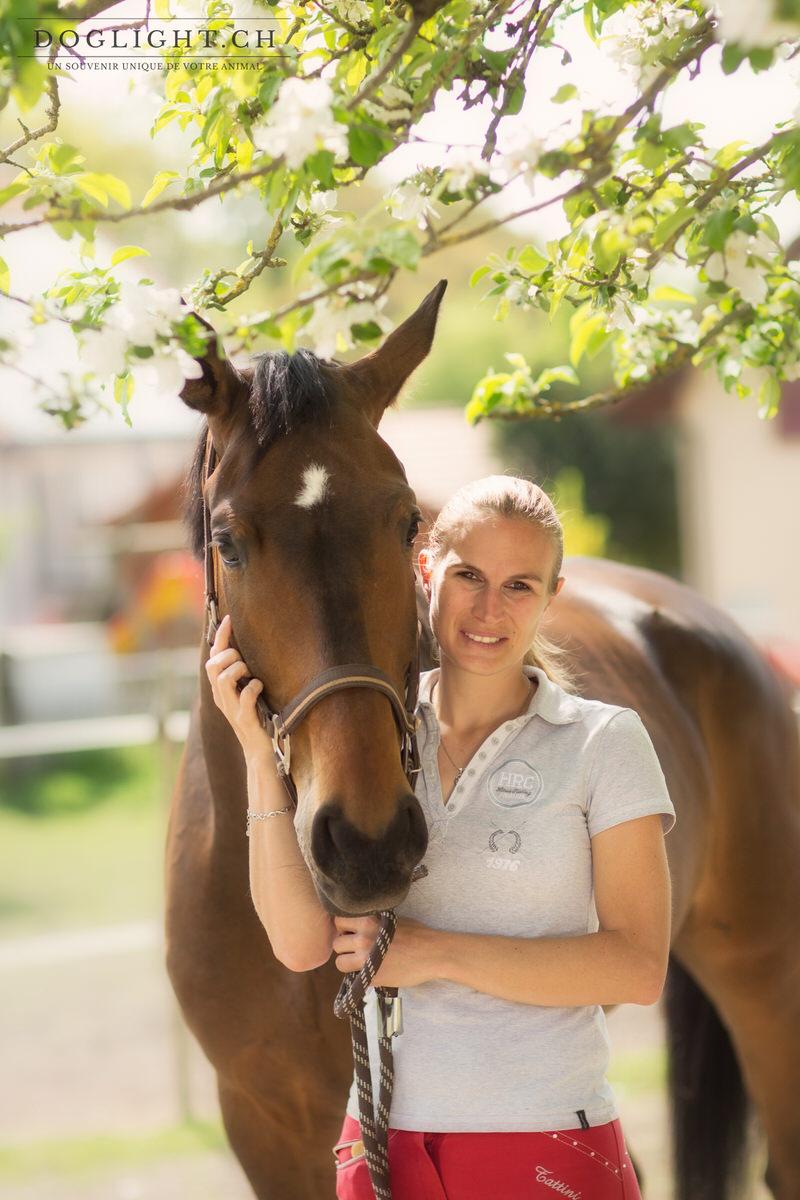 Portrait cheval cavalière photographe