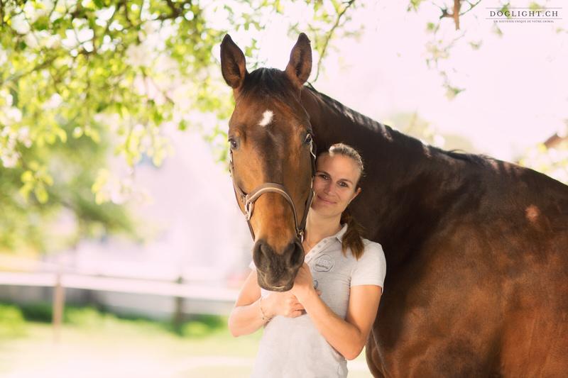 Portrait cheval + cavalière