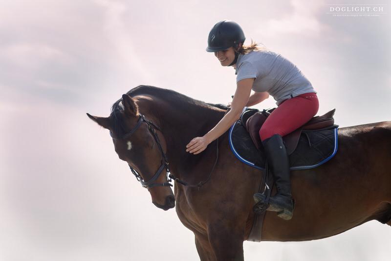 Relation cheval cavalière