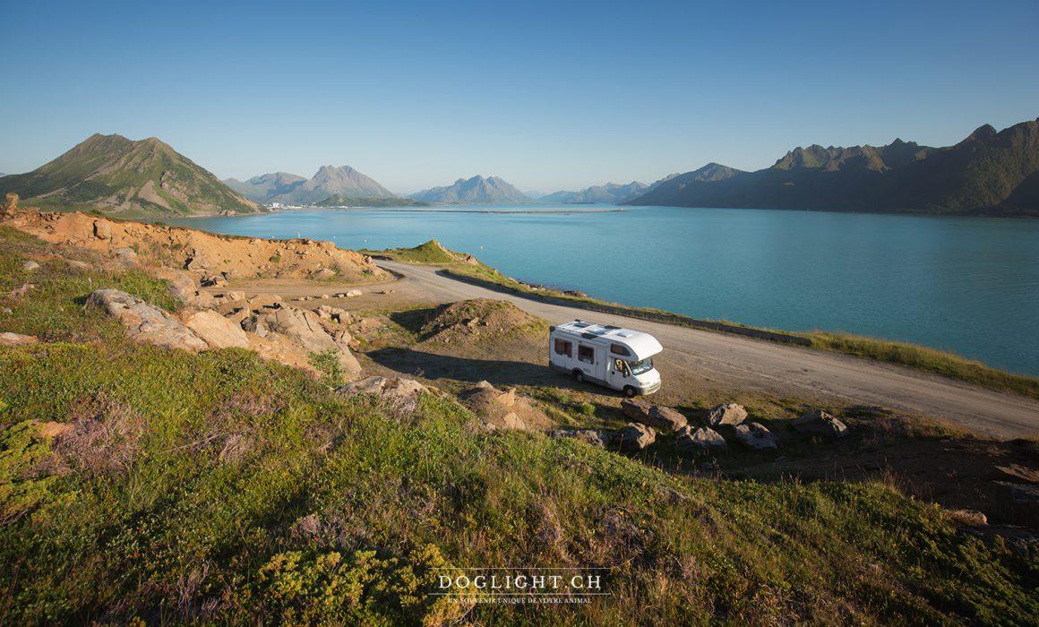 Voyage en camping-car aux îles Lofoten en Norvège