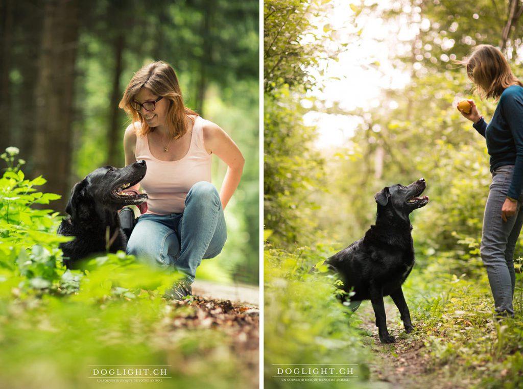 Relation labrador et sa maîtresse