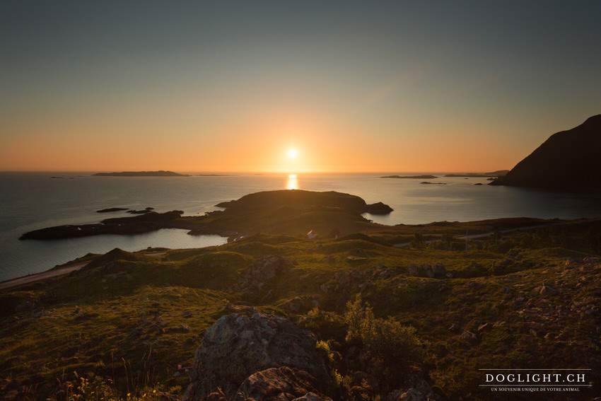 Soleil de minuit en Norvège - Photographe