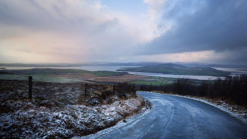 Neige en Irlande