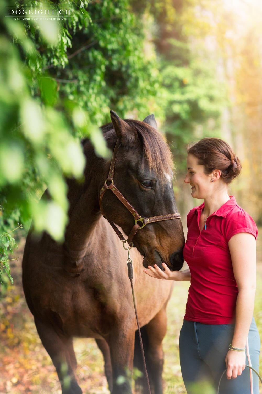 Relation femme et cheval