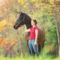 Séance photo cheval en haute-savoie avec le beau Négus
