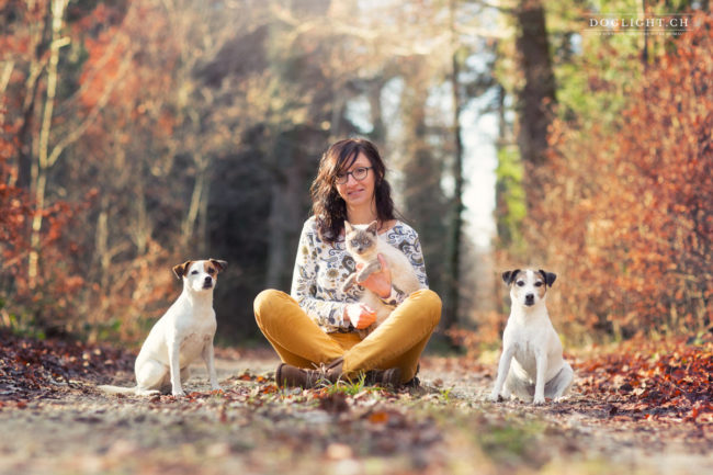 Photographe famille chat et chien
