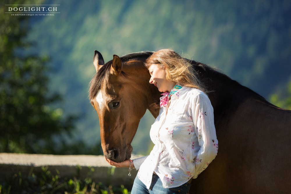 Quarter Horse encolure